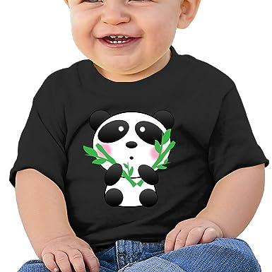 Shy Panda and Bamboo Baby Boys Classic Summer Tee Sleeve Short