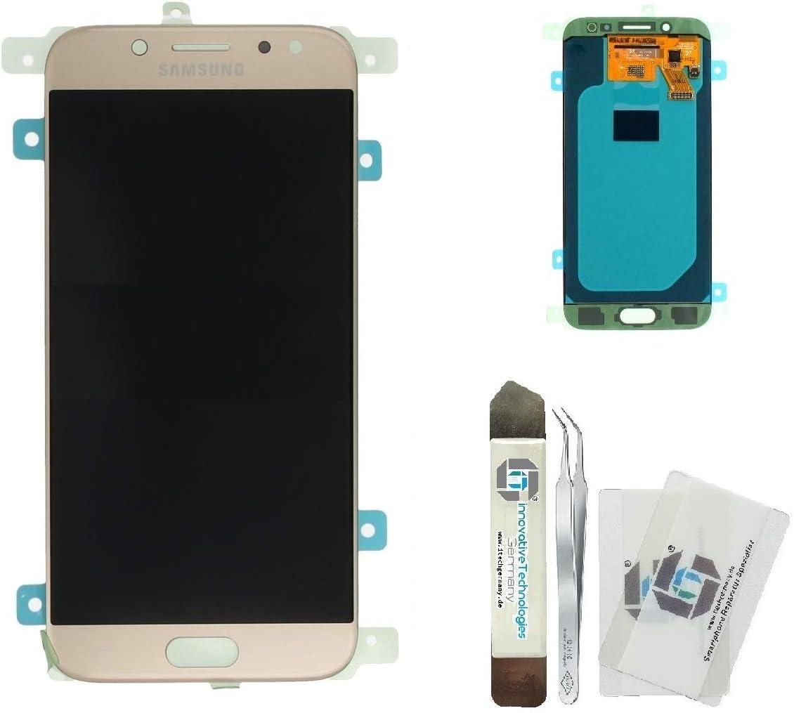 iTG® Juego de reparación de pantalla original para Samsung Galaxy J5 (2017) DUOS SM-J530F Oro: Amazon.es: Electrónica