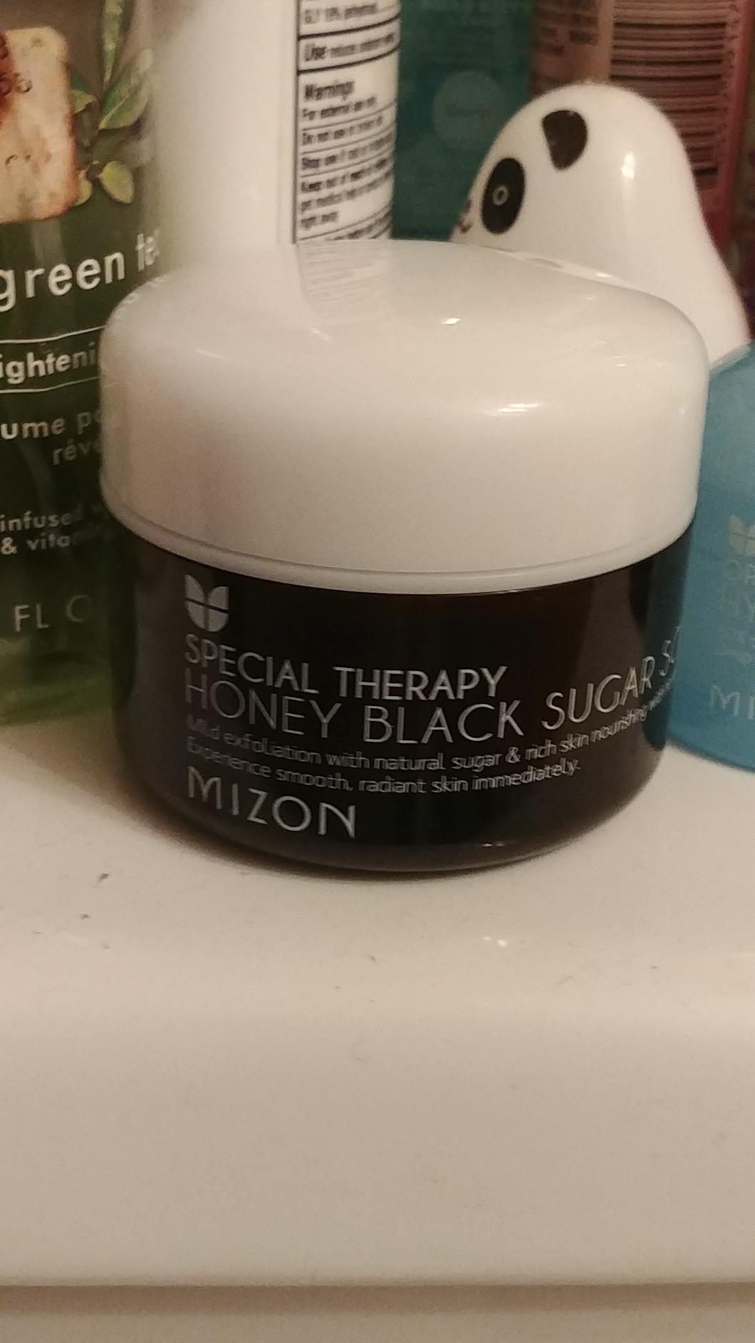 MIZON Honey Black Sugar Scrub 80 ml - Amazon Mỹ | Fado vn