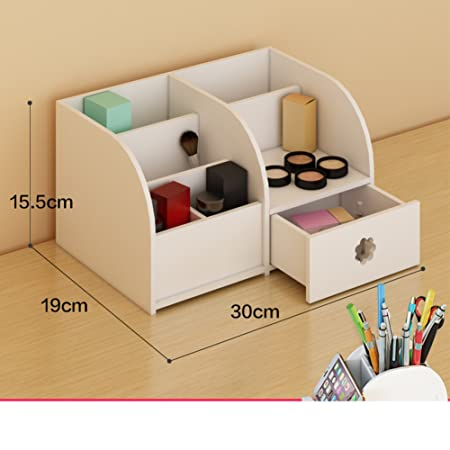 Desktop Storage Boxes For Cosmetics Organize Bathroom Rack And
