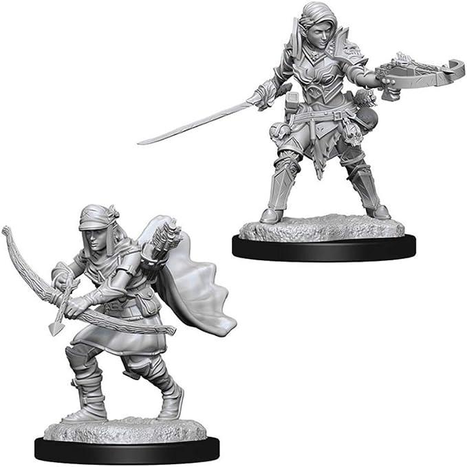 Half-Elf Male Ranger Pathfinder Battles Premium Figures W1 D/&D Miniature NIB