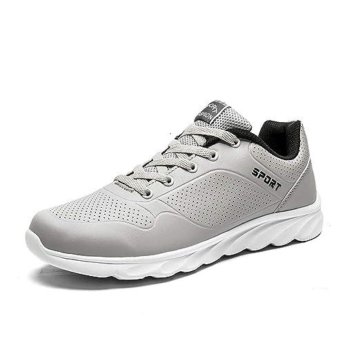 Hombre Mujer Zapatillas de Zapatos para Correr en Asfalto Aire Libre y Deportes Running para Fitness Zapatillas Gimnasio: Amazon.es: Zapatos y complementos