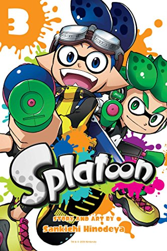 Splatoon, Vol. 3 - Action Manga