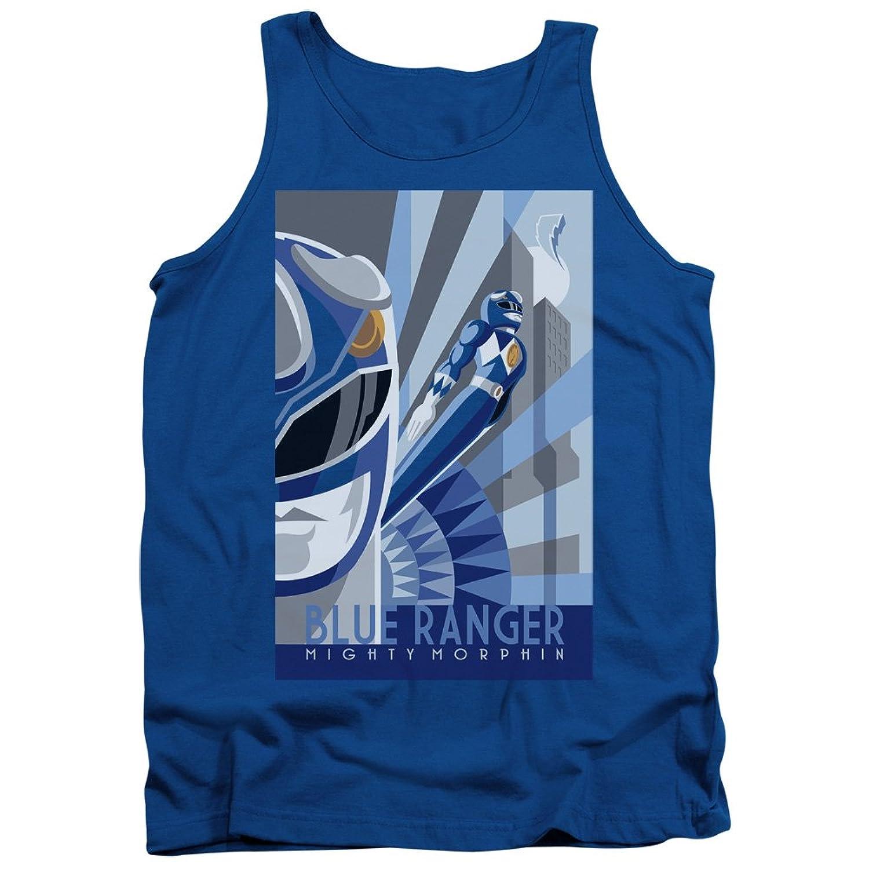 Power Rangers - Mens Blue Ranger Deco Tank Top