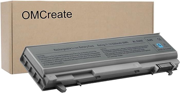 OMCreate E6410 PT434 Battery Compatible with Dell Latitude E6400 E6500 E6510 / Precision M4400, fits P/N 0RG049 W1193 KY265 312-0748 312-0749