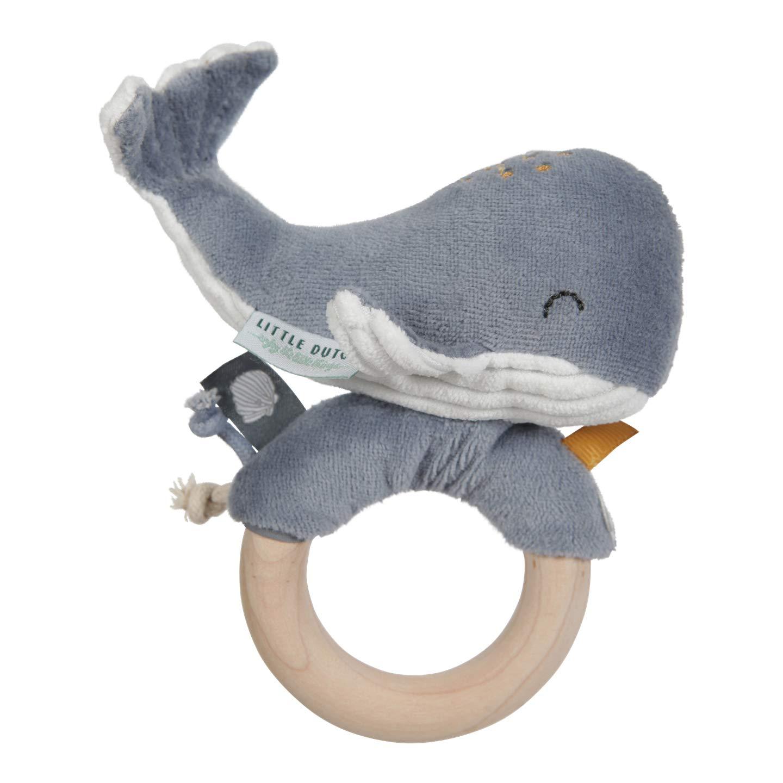 Elfenstall Windeltorte//Pamperstorte mit Schnullerkette//Schnuller und Little Dutch Oktopus und vielen Extras als tolles Geschenk zur Geburt oder Taufe auf Wunsch mit Namen des Babys