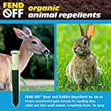 Luster Leaf Products Fend Off DR-50 Deer and Rabbit Repellent Plant Clips, 50pk - Green