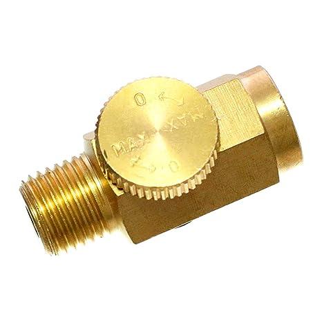 Amazon.com: Quickun válvula de regulador de presión de aire ...