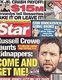 Russell Crowe, Erin Brockovich, John F. Kennedy Jr. - March 27, 2001 Star Magazine