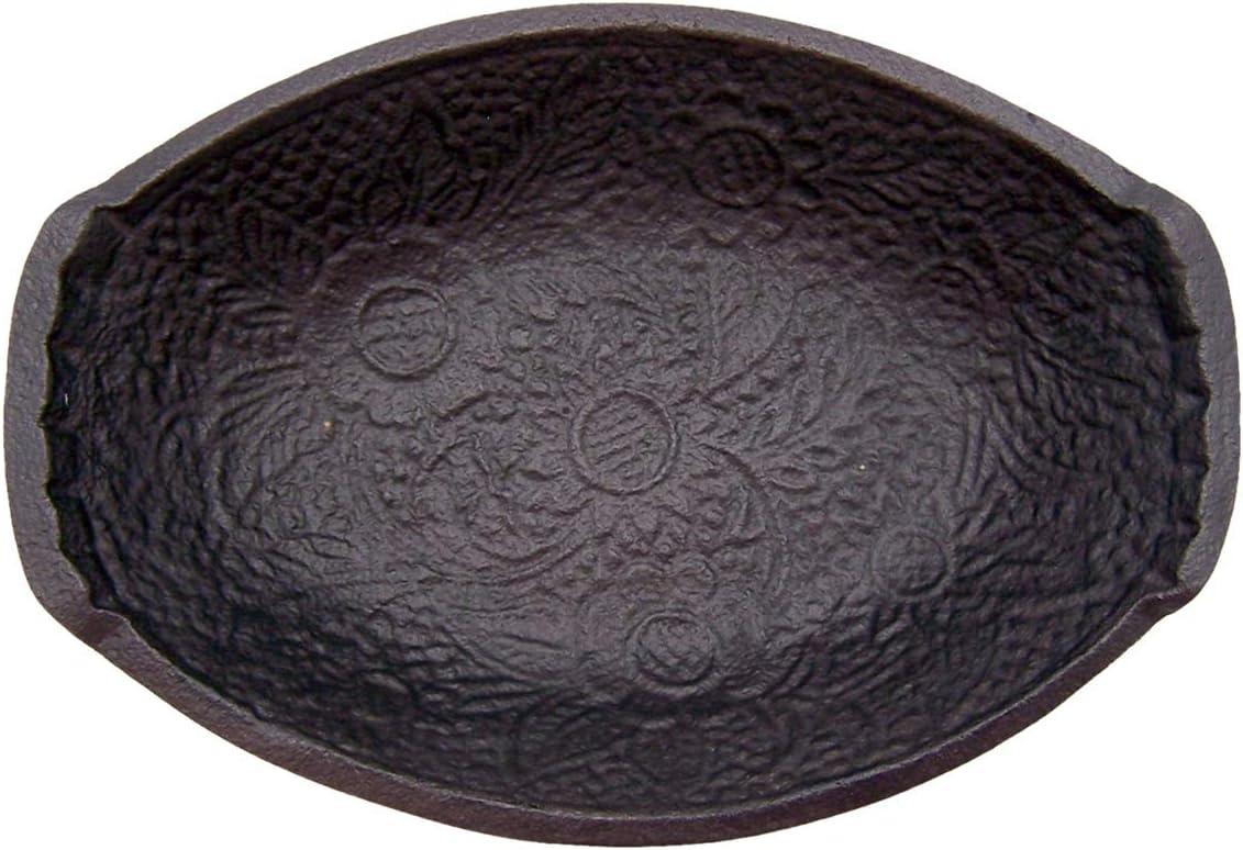 Ornate Square 47th /& Main Cast Iron Bowl 5.5 x 1.5-inches