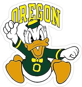 Stickers Oregon Donald Duck Decals 3x4 Inch Car (3 Pcs/Pack) Laptop Water Bottle