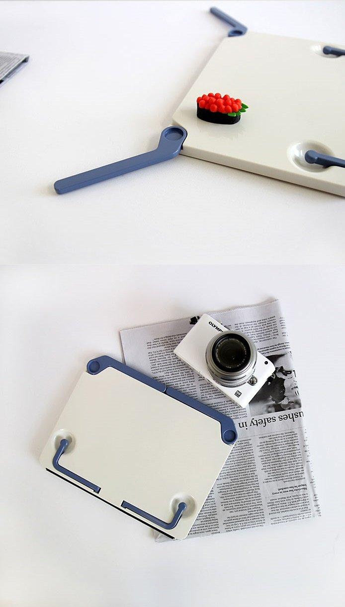 BookLovers] Premium Lightweight Portable Sturdy Book Stand (Tilt Adjustable Foldable Document Textbook and Tablet Holder, Book Rest, Cookbook Reading Desk - Proper Healthy Posture)