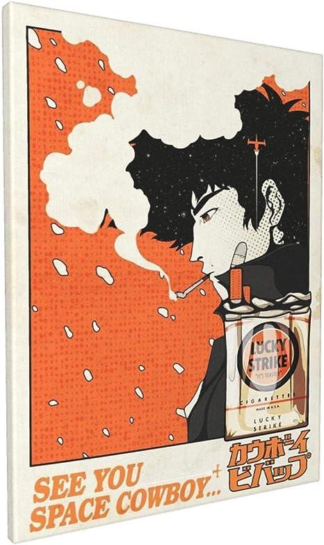 Silk Poster Wall Decor Art Print Spike Cowboy Bebop
