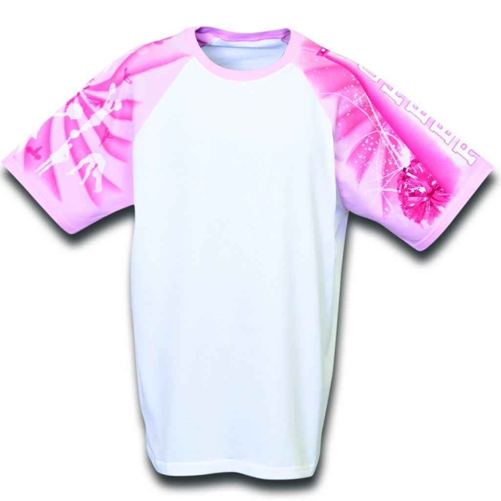 (お得な特別割引価格) Cheerleading Designer 4L Tシャツから日常生活 4L ホワイト Cheerleading Designer/ピンク B00CIYG2SU, 網走市:34203e7f --- eastcoastaudiovisual.com