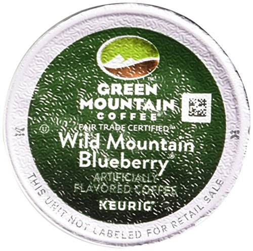 (Keurig, Green Mountain Coffee, Wild Mountain Blueberry, K-Cup Counts, 50 Count)