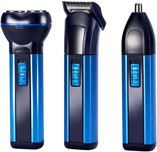 JHHXW Máquina de Afeitar multifunción Hombres afeitadora eléctrica ...