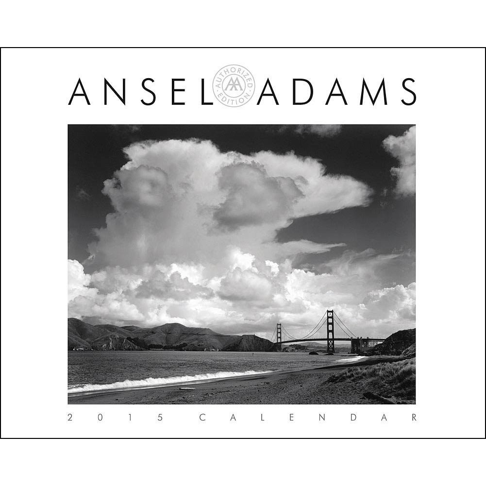 Ansel Adams 2015 Deluxe Wall Calendar by Hachette Book Group USA