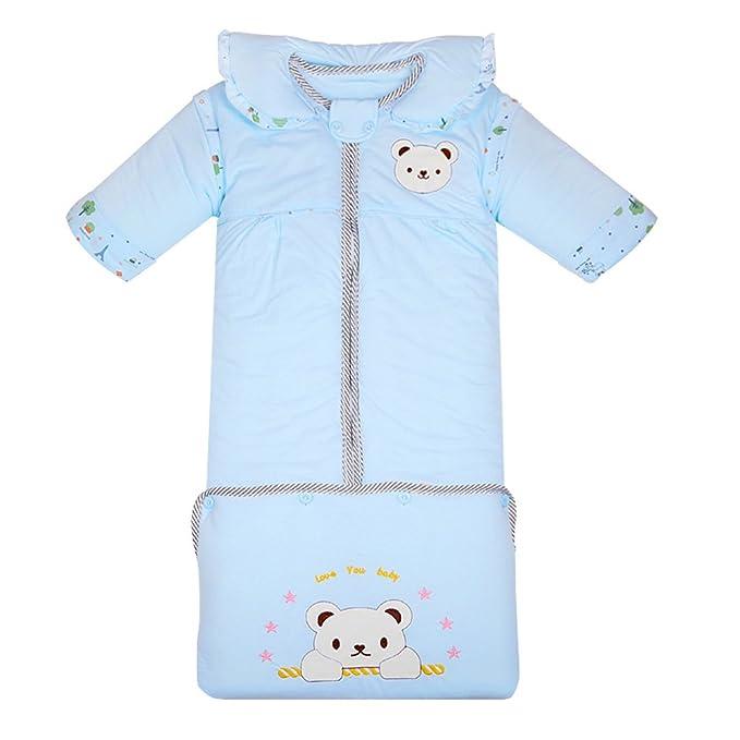 Fairy Baby - Saco de Dormir - Animal Print - Manga Larga - para bebé niña Azul Azul: Amazon.es: Ropa y accesorios