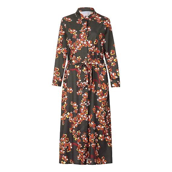 ❀Halloween Conjunto Top Y Falda Mujer, Vestido De Manga Larga Estampado Dobladillo para Mujer: Amazon.es: Ropa y accesorios