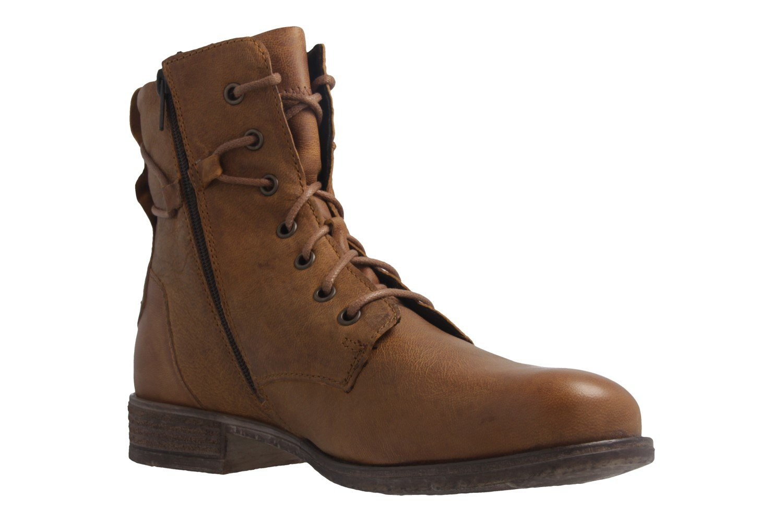 Josef Seibel - Damen Stiefelette - Schuhe Sienna 63 - Braun Schuhe - in Übergrößen Safran 21628c