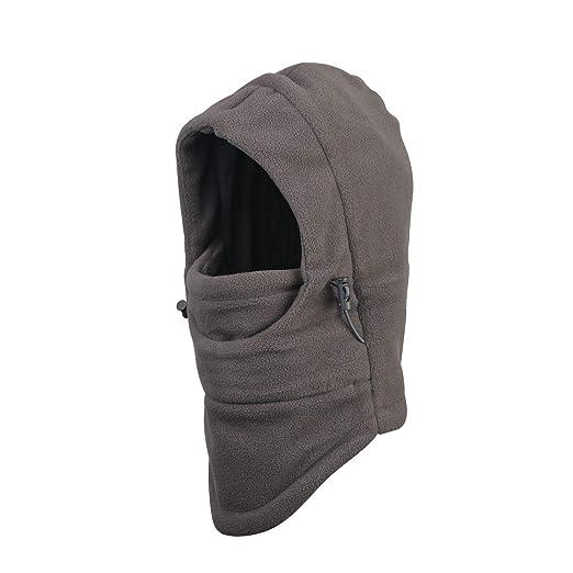 904e4857cc1 Metable Kids Winter Balaclavas Hat Windproof Boys Girls Face Mask Warm  Sledding Skiing Cap Adjustable Hood