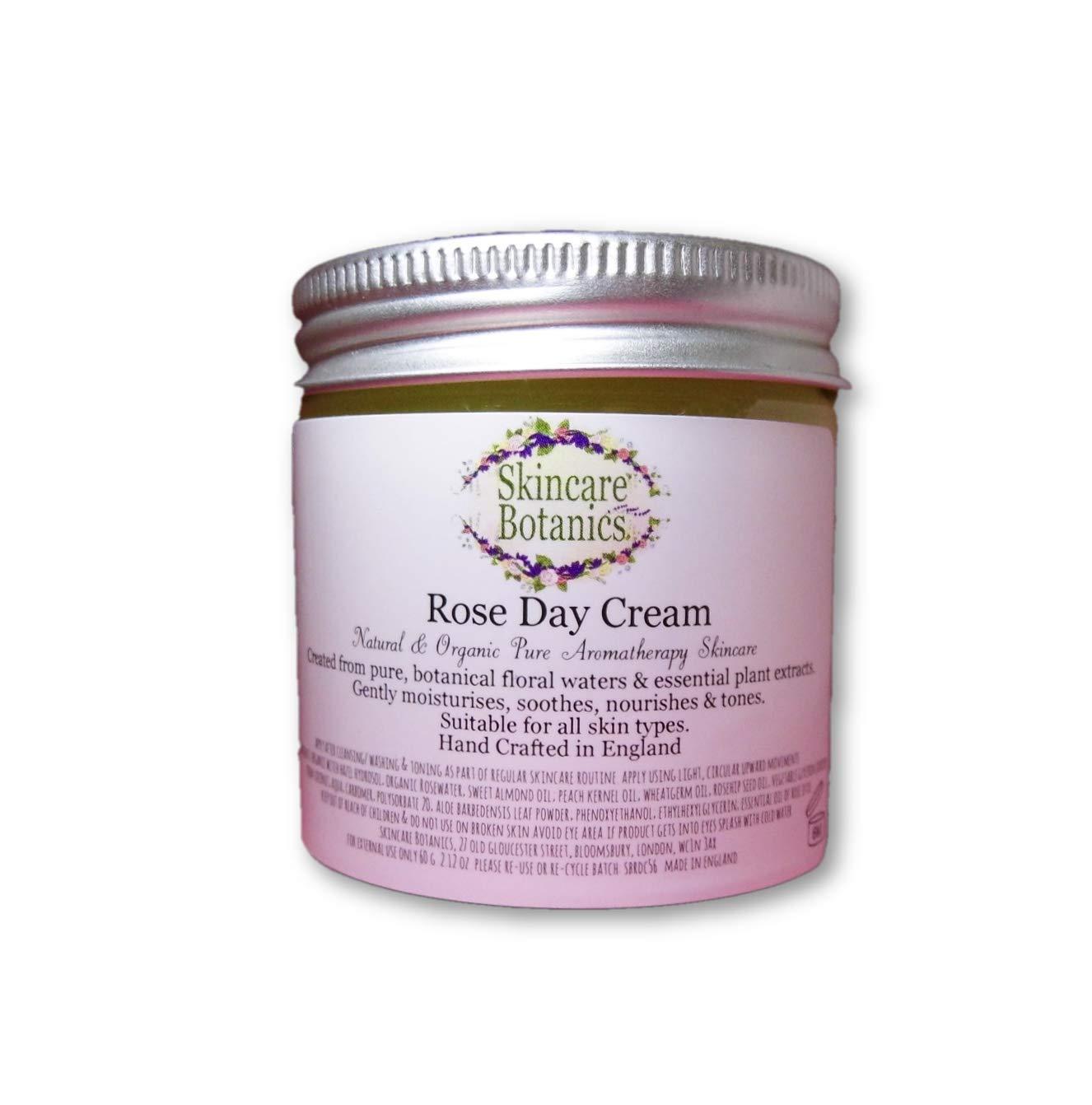 Todos Natural Y Orgánico Rosa Crema De Día Skincare Botanics