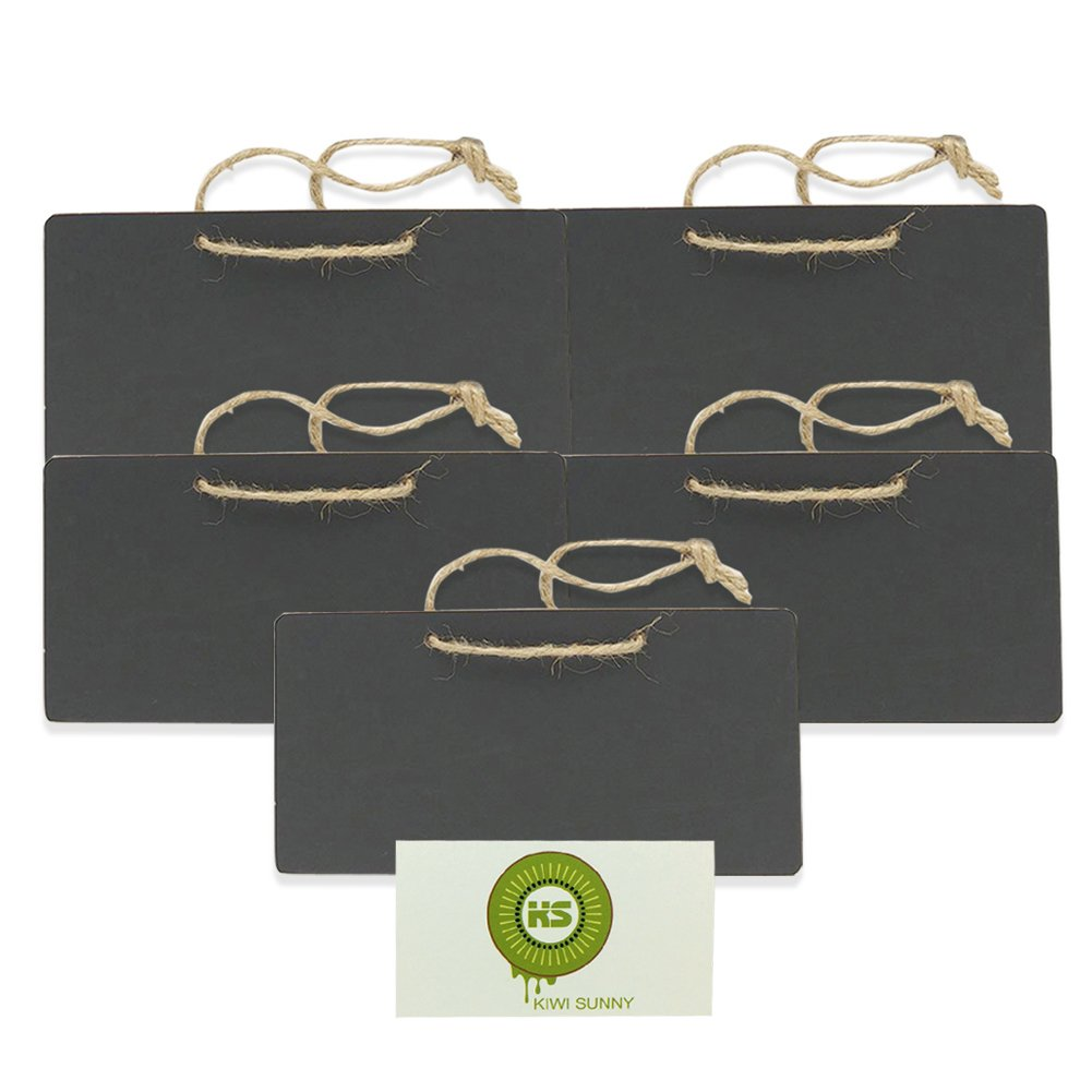 bcony 5 in legno mini lavagna lavagnette per messaggi board segni per feste e matrimoni impostazione decorazione natalizia