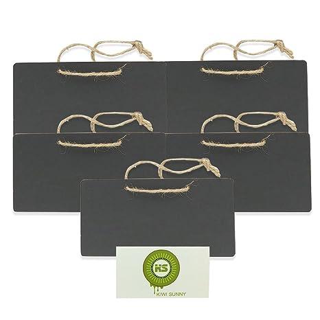 ROSENICE Lavagna da appendere legno lavagnette messaggi Lavagnette ...