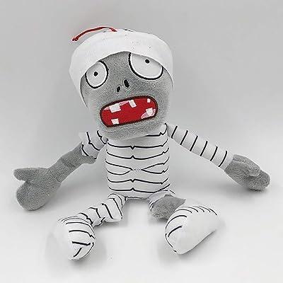 TavasHome Plants vs. Zombies 2 PVZ Figures Plush Stuffed Soft Toys Doll Mummy Zombie: Toys & Games