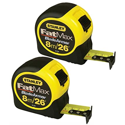 Stanley STA033726 Fatmax Tape 8M/26FT      0-33-726 Business & Industrial Measuring Tools Tape Measures