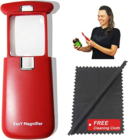 Amazon Com Pocket Magnifying Glass 3x An Elderly Assistant