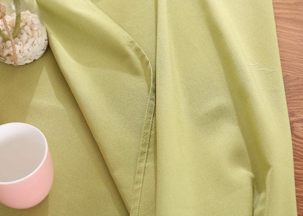 AKSHOME Impermeabile Tovaglia Tinta Unita Tavolo da Pranzo Rettangolare Tovaglia Poliestere Rettangolare Antipolvere Antirughe Festa Arancione70X70cm//27.5X27.5inches