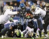 Marshawn Lynch Autographed 16x20 Photo Seattle Seahawks Beast Quake ML Holo