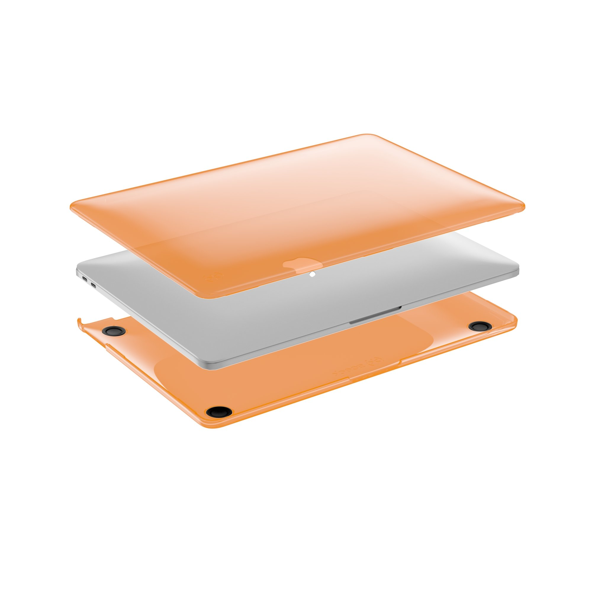 Speck Products 110608-7374 SmartShell Case, MacBook Pro 13'' (with and Without Touch Bar), Persimmon Orange by Speck (Image #2)