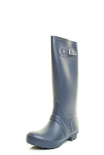 Forever Link Womens Round Toe Waterproof Mid Calf Pull On Snow Rain Boot  B015V5MWMM