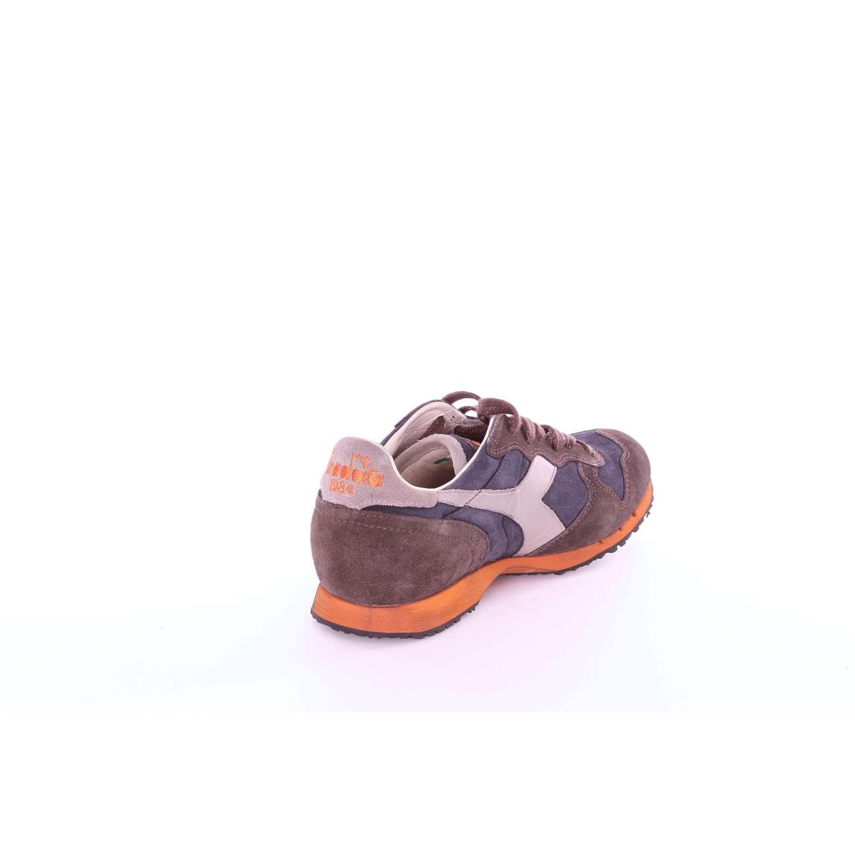 Hombre Azul Sneakers Mi Para Used Basket Diadora 14102 Heritage k0n8wPO