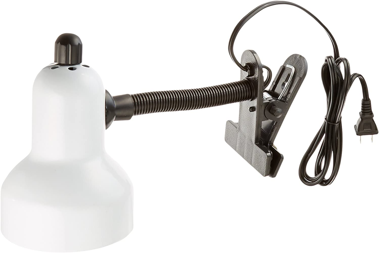 Lite Source LS-111WHT Clip-On Lamp, White