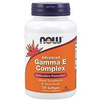 NOW Supplements, Advanced Gamma E Complex, Mixed Tocopherols & Tocotrienols, Antioxidant...