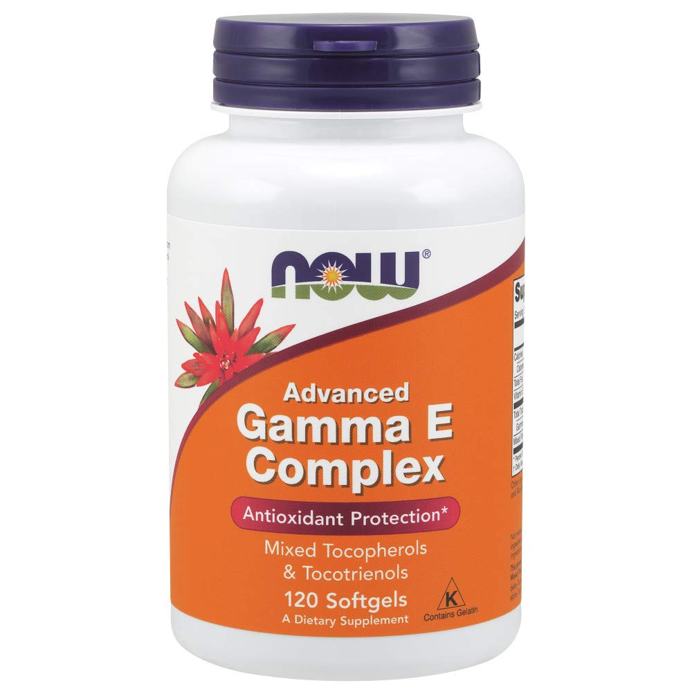 Now Supplements, Advanced Gamma E Complex, 120 Softgels