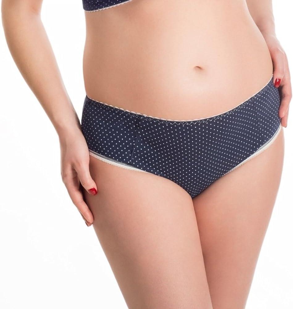 BaiBa - Braga clásica de embarazo, de algodón (42, Azul marino ...