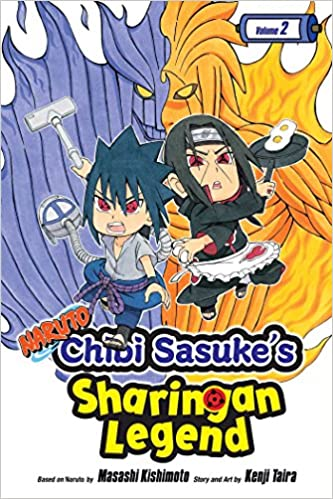 Amazon.com: Naruto: Chibi Sasukes Sharingan Legend, Vol. 2 ...