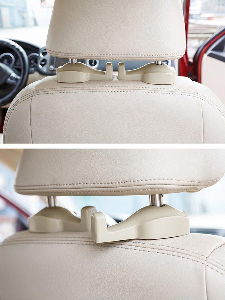 2 St/ück ChiTronic Auto-Kleiderb/ügelhalter zur Anbringung an die Kopfst/ütze