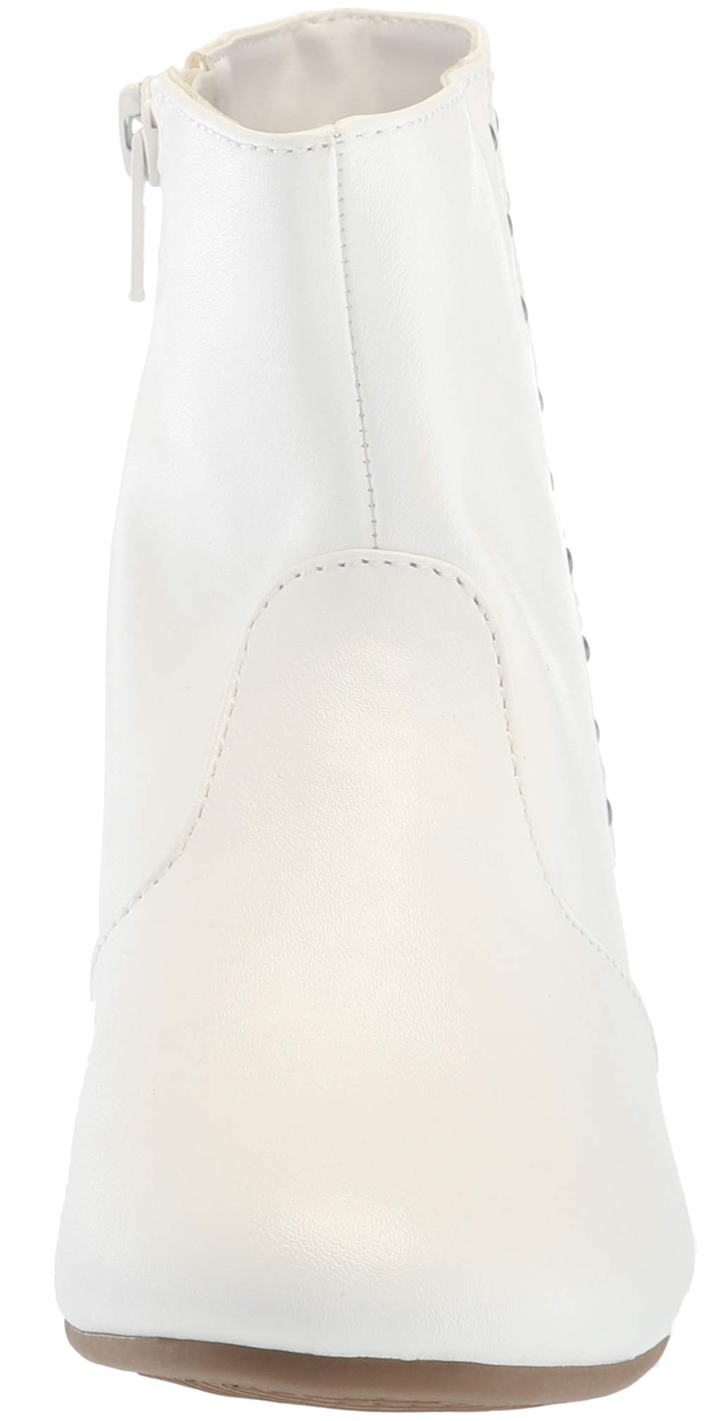 The Children's Place Girls' Bootie Fashion Boot, White, Youth 3 Child US Little Kid by The Children's Place (Image #4)