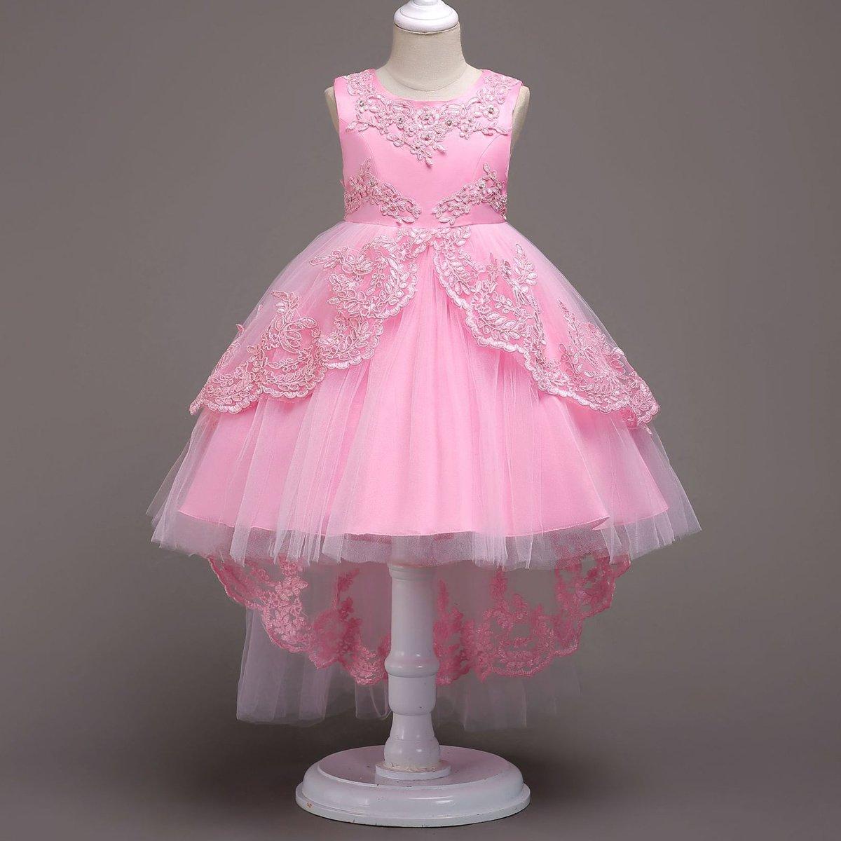 IWEMEK Vestido de niña de Flores para la Boda Princesa Vestidos de ...
