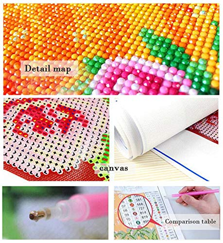Disney Character Family 19.7/×19.7 inch 5D DIY Diamond Painting Kits Full Drill Diamond Embroidery