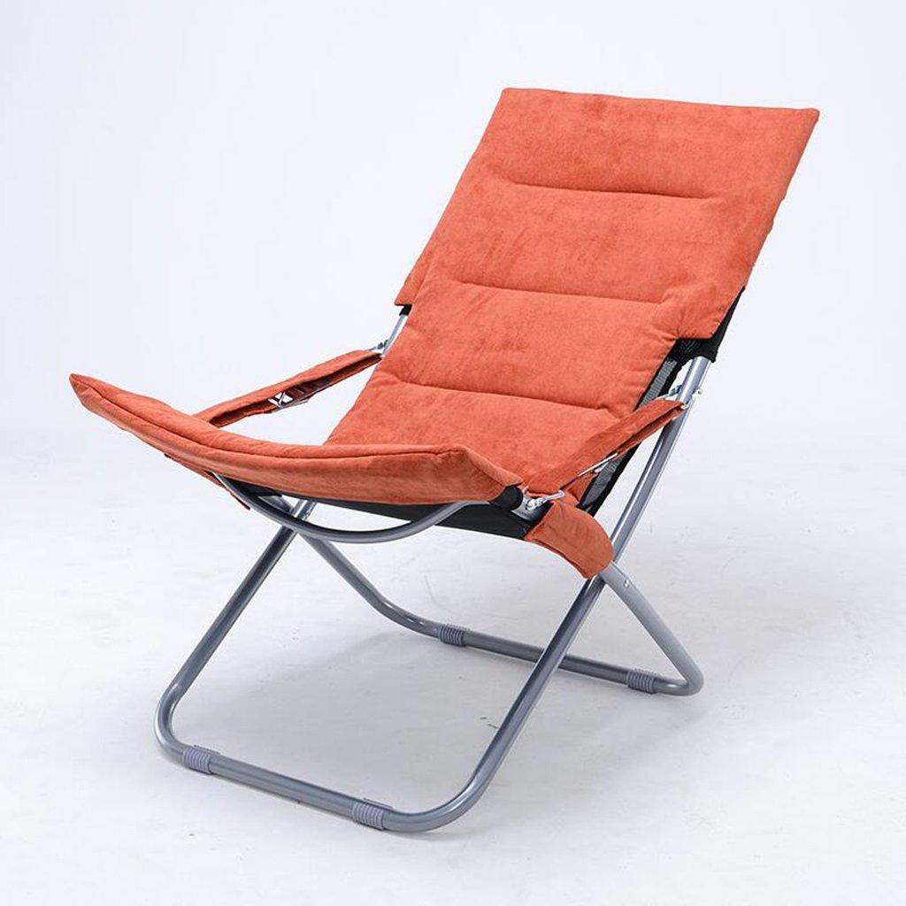 Silla Rollsnownow Chaise Longue Plegables de Color Naranja ...