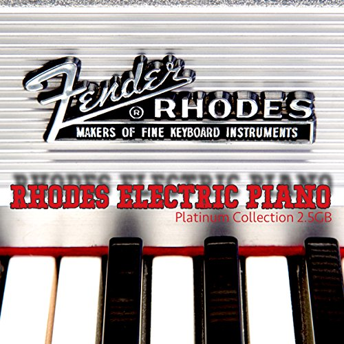 Fender Rhodes Electric Piano - Large unique 24bit WAVE/KONTAKT Multi-Layer Studio Samples Production Library on DVD or download by SoundLoad