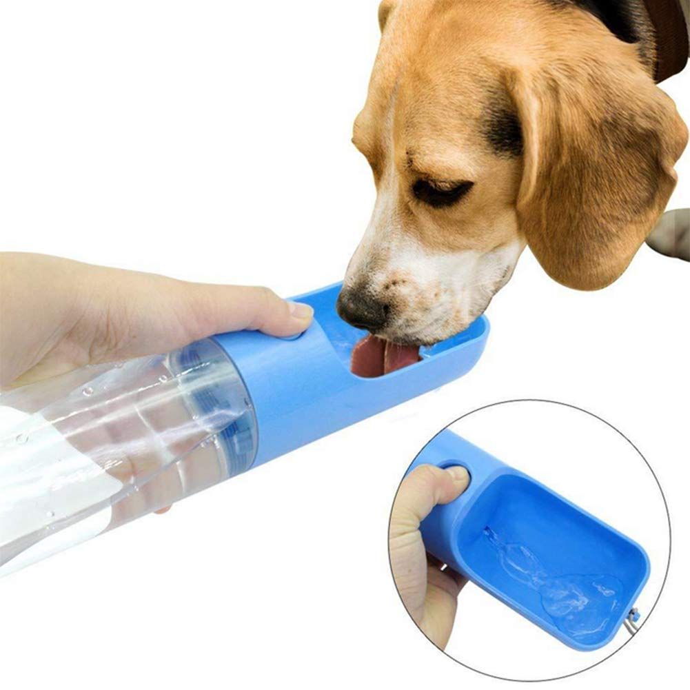 Leakproof Pet Drinking Water Leakproof Pet Drinking Water Bottle Bottle With Activated Carbon Antibacterial ABS Plastic For Dogs Cats Travel Outdoor