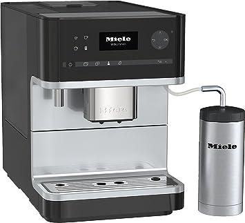 miele cm 6310 stand kaffeevollautomat obsidianschwarz onetouch
