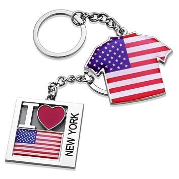 Amazon.com: 2 x i love de Nueva York NY Estados Unidos de ...